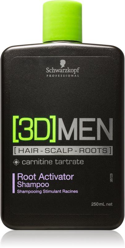 Schwarzkopf Professional [3D] MEN шампунь для активації коріння